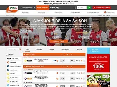 site internet de pmu-sport